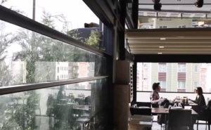 parete automatica vetro